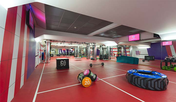 GYM FLOOR palestra Milano Diaz