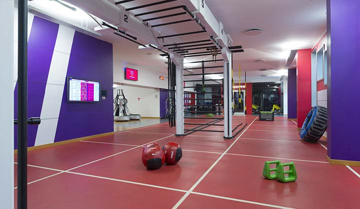 GYM FLOOR palestra Milano Kennedy