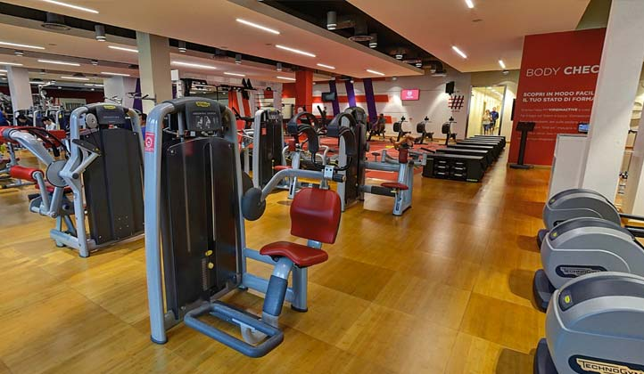 GYM FLOOR palestra Milano Maciachini