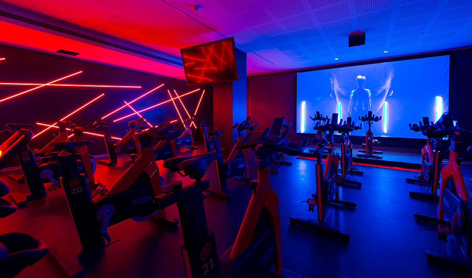Cycling 1 palestra Revolution by Virgin Active