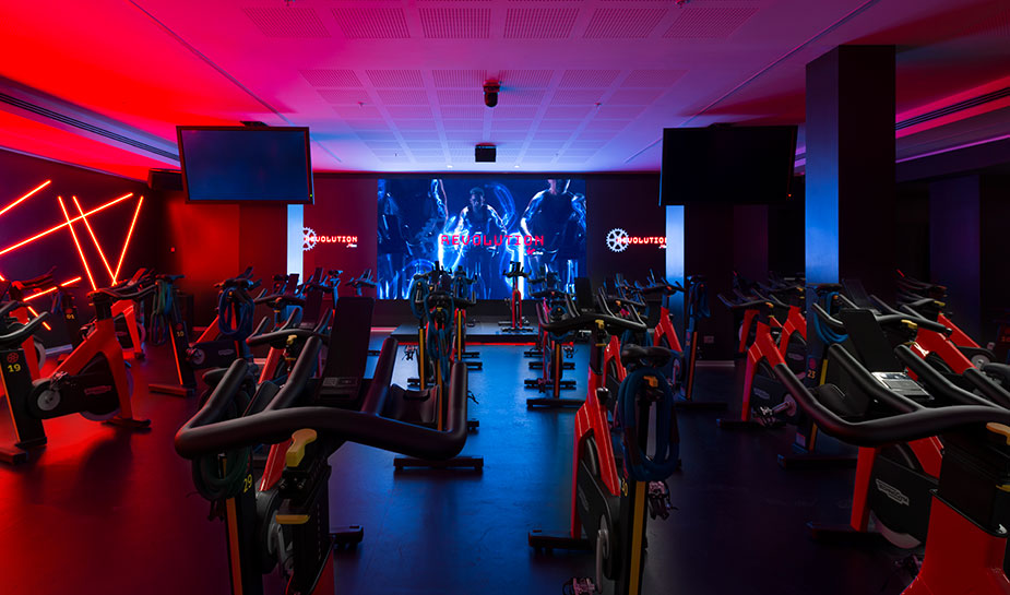 Cycling 3 palestra Revolution by Virgin Active