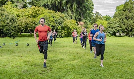 outdoor allenamento
